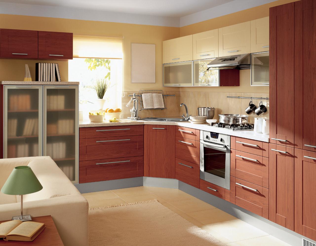 k che 300 cm einbauk che erweiterbar vanille kirsche antik rahmen fronten ebay. Black Bedroom Furniture Sets. Home Design Ideas